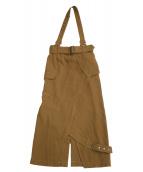 Ameri VINTAGE(アメリビンテージ)の古着「スカート」 キャメル