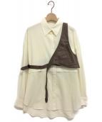 Ameri VINTAGE(アメリヴィンテージ)の古着「BUCKAROO LIKE SHIRTS」|アイボリー