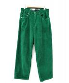 LEVI'S(リーバイス)の古着「コーデュロイワイドパンツ」|グリーン