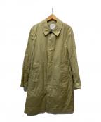 UNITED TOKYO(ユナイテッドトウキョウ)の古着「ライトギャバステンコート」|ベージュ