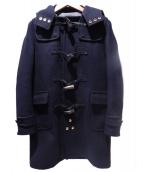 SCYEBASICS(サイベーシックス)の古着「ウールカシミヤダッフルコート」|ネイビー