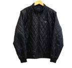 FRED PERRY(フレッドペリー)の古着「キルティングジャケット」|ブラック