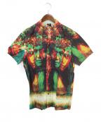 Jean Paul Gaultier homme(ジャンポールゴルチェオム)の古着「プリントシャツ」