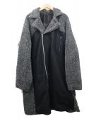 SWAGGER(スワッガ)の古着「ライダースコート」|ブラック