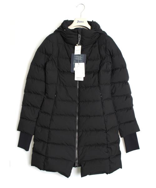 HERNO(ヘルノ)HERNO (ヘルノ) ダウンコート ブラック サイズ:42 GORE WINDSTOPPERの古着・服飾アイテム