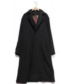 glamb(グラム)の古着「Nouvelle chester coat」 ブラック
