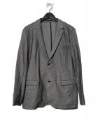SOLIDO(ソリード)の古着「度詰めカノコジャケット」|グレー