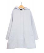 Demi-Luxe BEAMS(デミルクスビームス)の古着「2WAYフードジップコート」 ブルー