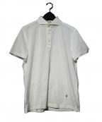 GUY ROVER(ギローバ)の古着「ポロシャツ」|ホワイト