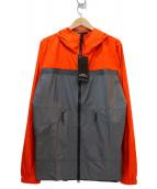 CHROME(クローム)の古着「マウンテンパーカー」 オレンジ×グレー