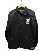 CHROME(クローム)の古着「LOGO COACH JACKET」 ブラック