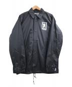 CHROME(クローム)の古着「LOGO COACH JACKET」|ブラック