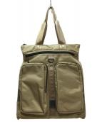CHROME(クローム)の古着「2WAYバックパック」|ベージュ