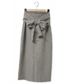 Whim Gazette(ウィムガゼット)の古着「タイトスカート」|グレー