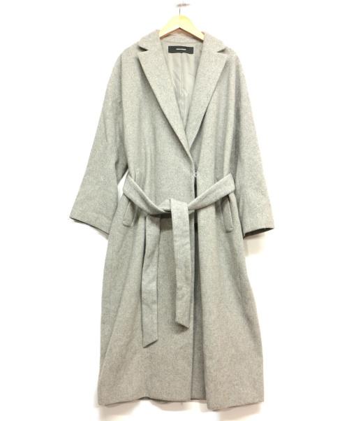 JOURNAL STANDARD(ジャーナルスタンダード)JOURNAL STANDARD (ジャーナルスタンダード) ガウンコート グレー サイズ:記載なしの古着・服飾アイテム