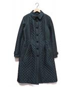 BURBERRY LONDON(バーバリーロンドン)の古着「キルティングコート」 グリーン