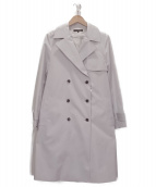 LAUTRE AMONT(ロートレアモン)の古着「ライナー付トレンチコート」|グレー