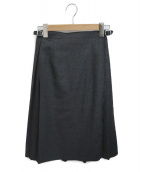 ONEIL OF DUBLIN(オニール オブ ダブリン)の古着「キルトスカート」|グレー