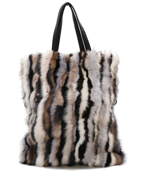 AMACA(アマカ)AMACA (アマカ) 2WAYミンクファーバッグ ベージュ サイズ:表記なし 10周年の古着・服飾アイテム