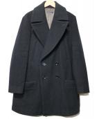 LIMI feu(リミフゥ)の古着「Pコート」|ブラック