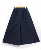 .efiLevol(エフィレボル)の古着「デニムスカート」|ネイビー