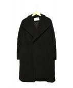 MaxMara(マックスマーラ)の古着「カシミヤウールダブルコート」 ブラック