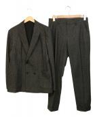 JOSEPH HOMME(ジョセフオム)の古着「スーパーストレッチトリコットセットアップ」|グレー