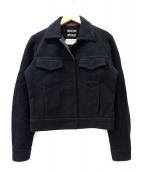 Maison Margiela 6(メゾンマルジェラ6)の古着「ショートジャケット」|ブラック