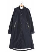 DANSKIN(ダンスキン)の古着「BACK TWIST COAT CAPSULE COLLEC」|ネイビー