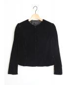 TOCCA(トッカ)の古着「NEASDENベロアジャケット」|ブラック