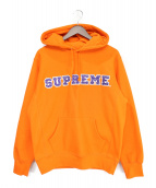 Supreme(シュプリーム)の古着「19AW The Most Hooded Sweatshir」|オレンジ