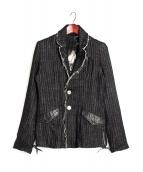 KMRii(ケムリ)の古着「ウールデザインジャケット」|ブラック