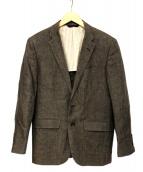 BROOKS BROTHERS(ブルックスブラザーズ)の古着「リネンテーラードジャケット」|グレー