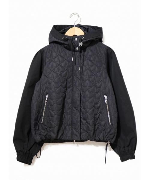 CHONO(チョノ)CHONO (チョノ) キルティングジャケット ブラック サイズ:表記なし 「Stella Quilt(ステラキルト)」シリーズの古着・服飾アイテム