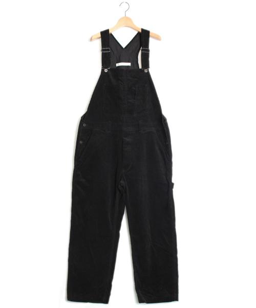 JOURNAL STANDARD LUXE(ジャーナルスタンダード ラックス)JOURNAL STANDARD LUXE (ジャーナルスタンダード ラックス) ズボンコールオーバーオール ブラック サイズ:-の古着・服飾アイテム