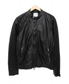 UNITED TOKYO(ユナイテッドトウキョウ)の古着「洗い加工ラムシングル」|ブラック