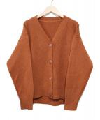 ROPE(ロペ)の古着「タスマニアウールコクーンカーディガン」|ブラウン