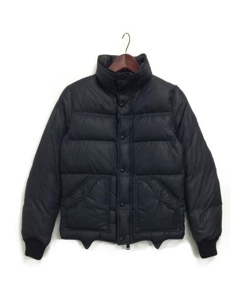 Dior Homme(ディオールオム)Dior Homme (ディオールオム) ハイネックグースダウンジャケット ブラック サイズ:44の古着・服飾アイテム