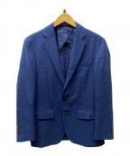 POLO RALPH LAUREN()の古着「リネンテーラードジャケット」|ネイビー