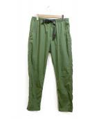 GRAMICCI(グラミチ)の古着「ナイロンパンツ」 グリーン