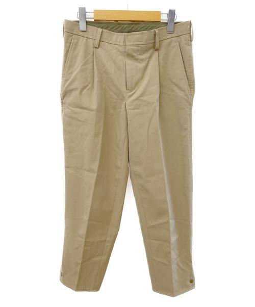 KOLOR(カラー)KOLOR (カラー) タックパンツ ベージュ サイズ:1の古着・服飾アイテム