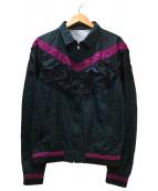 KOLOR(カラー)の古着「ウェザープリントブルゾン」|グリーン×パープル