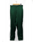 BED J.W. FORD(ベッドフォード)の古着「Track Trousers. Ver.1」|グリーン