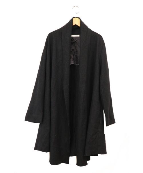 HOUSE OF LOTUS(ハウスオブロータス)HOUSE OF LOTUS (ハウスオブロータス) ウールガウンコート ブラック サイズ:Mの古着・服飾アイテム