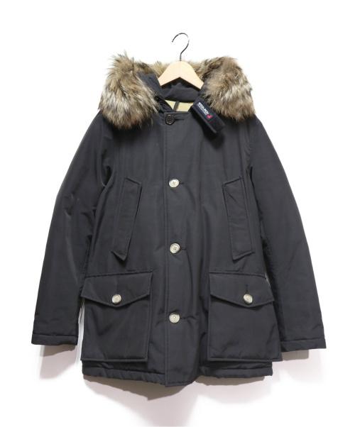WOOLRICH(ウールリッチ)WOOLRICH (ウールリッチ) ARCTIC PARKA ブラック サイズ:Sの古着・服飾アイテム