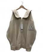 Martin Margiela1(マルタンマルジェラ1)の古着「オーバーサイズニット」|アイボリー