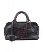 LOEWE(ロエベ)の古着「アマソナ28」|ブラック×ピンク