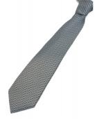 HERMES(エルメス)の古着「ネクタイ」|スカイブルー×ブラック