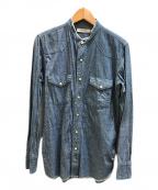 nonnative(ノンネイティブ)の古着「バンドカラーウエスタンシャツ」|インディゴ