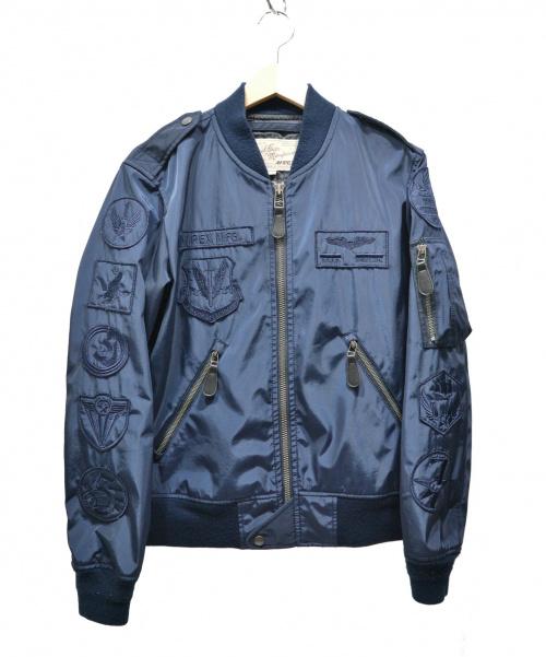 AVIREX(アビレックス)AVIREX (アビレックス) MA-1ジャケット ネイビー サイズ:SIZE M 参考価格¥22.000 U.S.A.F. 70th ANNIVERSARYの古着・服飾アイテム